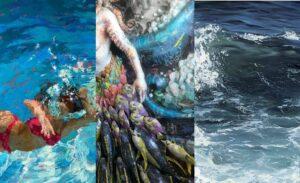 """""""Fluid"""" Coastal Contemporary Gallery"""